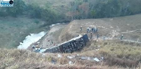 Left or right acidente na br 146 em minas gerais por volta das 4h desta segunda feira 27 1535384694792 615x300