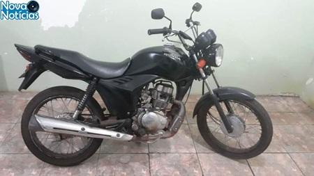 Left or right moto usada em roubo dia 16 do 10