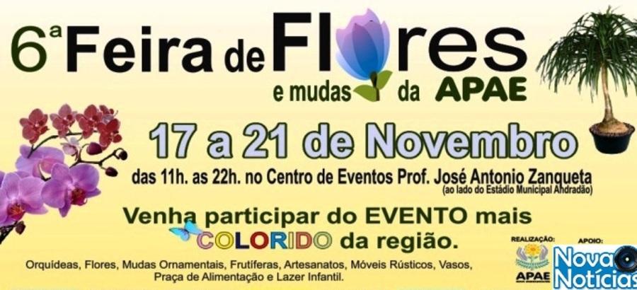 Center cartaz feira de flores 2016
