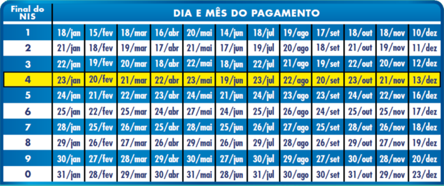 Center calendario