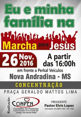 Left or right marcha para jesus