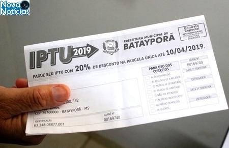 Left or right iptu bataypora 2019