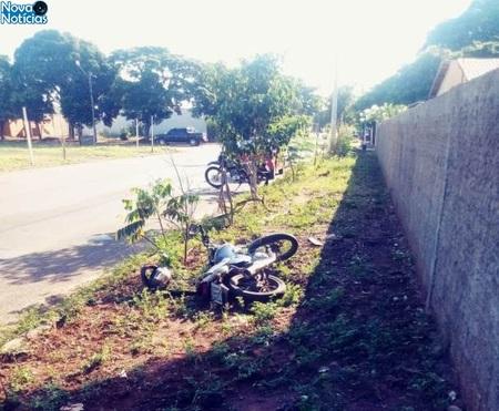 Left or right moto acidente dia 05 de maio em nova andradinaaa