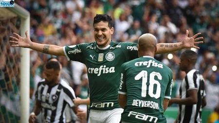 Left or right gustavo gomez comemora gol do palmeiras contra o botafogo 1558816313758 v2 900x506