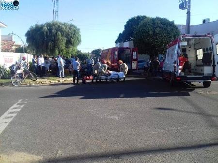 Left or right acidente entre motos em nova andradina dia 11 de julho