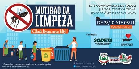 Left or right mutir o de limpeza bataypor