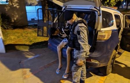 Left or right jovem preso com cocaina dia 07 do 11 em nova andradina