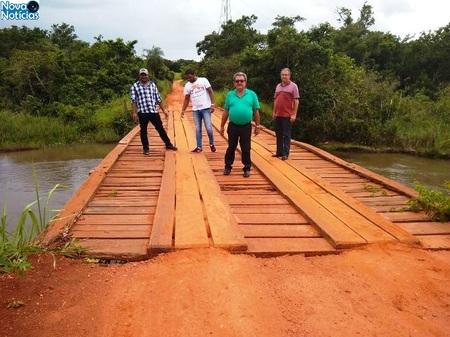 Left or right constru o de ponte de concreto sobre o rio samambaia inicia nos pr ximos dias