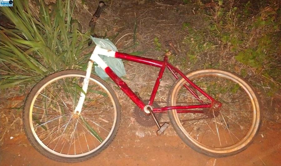 Center bicicleta do menino acidente dia 06 de julho