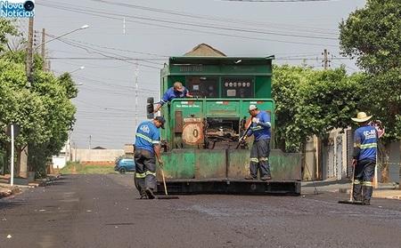 Left or right recupera o de asfalto em nova andradina dia 09 de setembro.