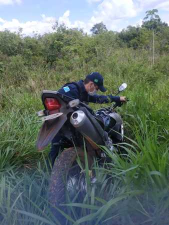 Left or right moto encontrada dia 11 de janeiro