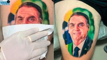 Left or right tatuagem bolsonaro