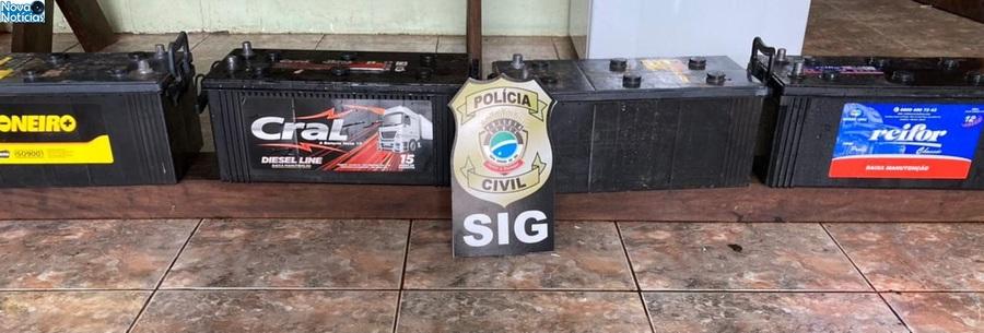 Center baterias furto dia 10 de junho