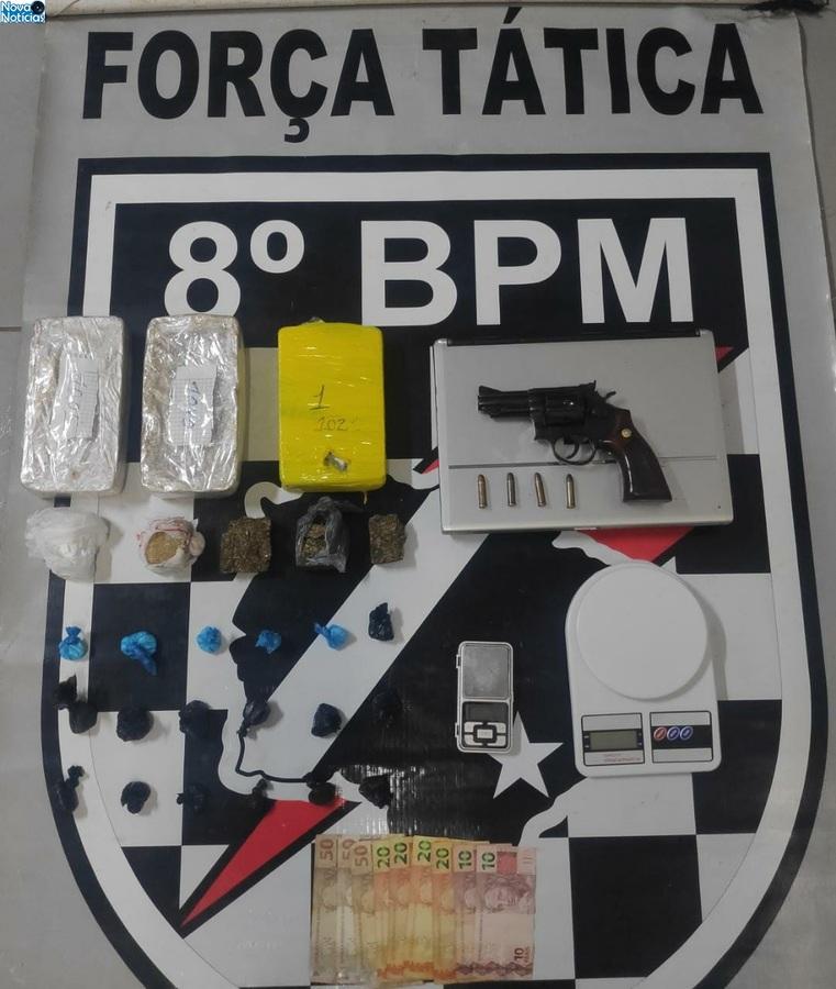 Center droga e arma dia 16 de junho