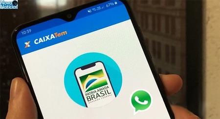 Left or right uso do whatsapp para receber o auxilio emergencial widelg