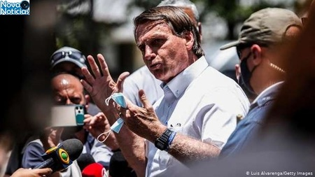 Left or right bolsonaro apoiadores luis alvarenga getty images
