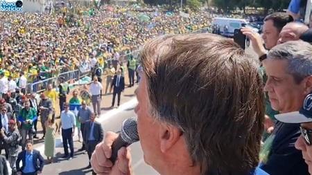 Left or right bolsonaro discurso na esplanada dos ministerios 7 de setembro widelg