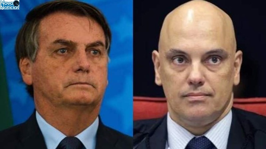 Center bolsonaro ataca ministro alexandre de moraes widelg