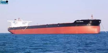 Left or right navio de carga desaparece no atlantico apos deixar o brasil com 24 pessoas