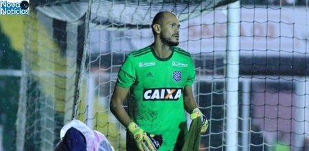 Left or right goleiro figueirense luiz henrique ffc
